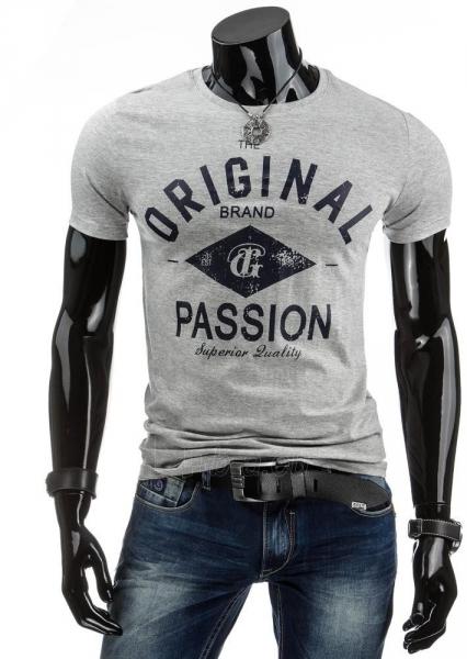 Vyriški marškinėliai ORIGINALS (Pilki) Paveikslėlis 1 iš 4 310820034836