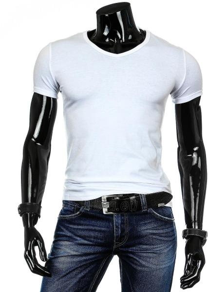 Vyriški marškinėliai Palmer (Balti) Paveikslėlis 1 iš 4 310820040522