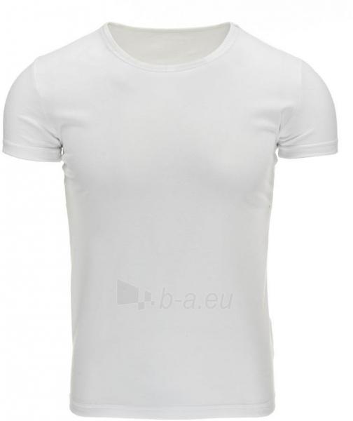 Vyriški marškinėliai Parker (Balti) Paveikslėlis 1 iš 1 310820033461