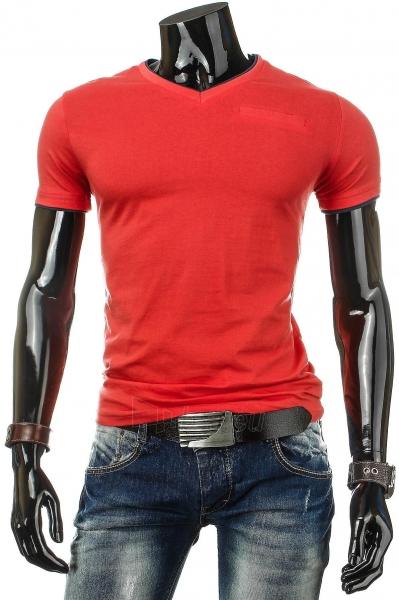 Vyriški marškinėliai Percy (Raudoni) Paveikslėlis 1 iš 4 310820034811