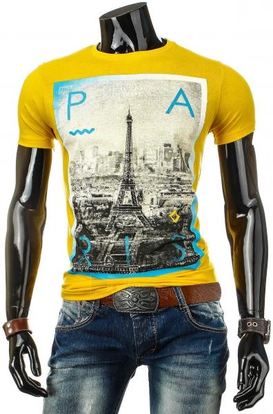 Vyriški marškinėliai Perry (Geltoni) Paveikslėlis 1 iš 4 310820033462