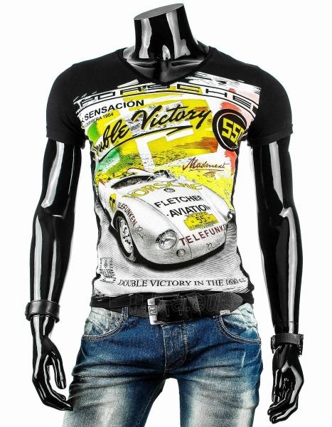 Vyriški marškinėliai Peyton (Juodi) Paveikslėlis 1 iš 4 310820033469