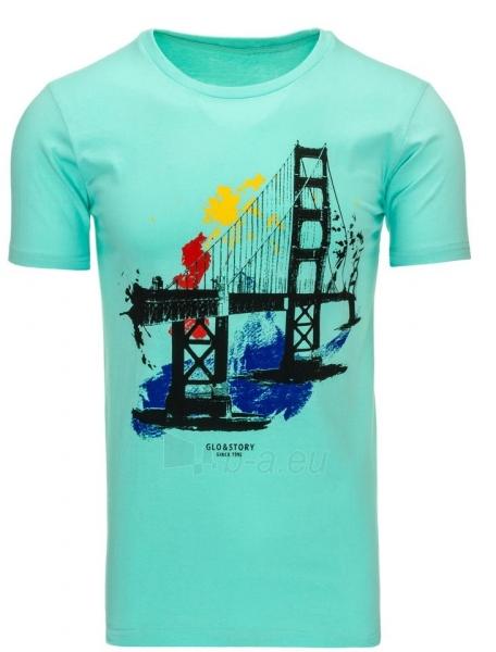 Vyriški marškinėliai Philip (Žali) Paveikslėlis 1 iš 5 310820033479