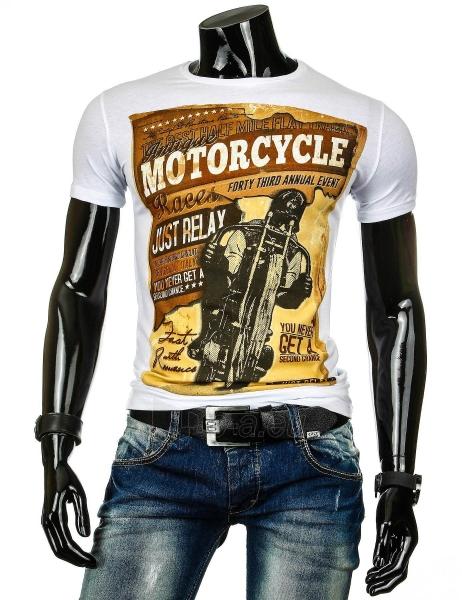 Vyriški marškinėliai Phillip (Balti) Paveikslėlis 1 iš 4 310820034820