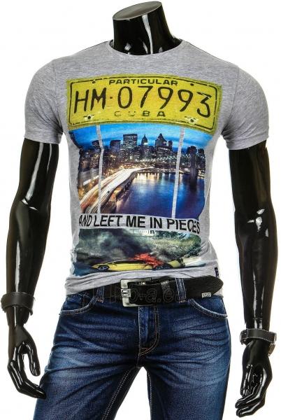 Vyriški marškinėliai Porter (Pilki) Paveikslėlis 1 iš 4 310820034821