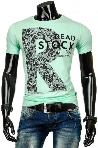 Vyriški marškinėliai R (Žali) Paveikslėlis 1 iš 4 310820034817