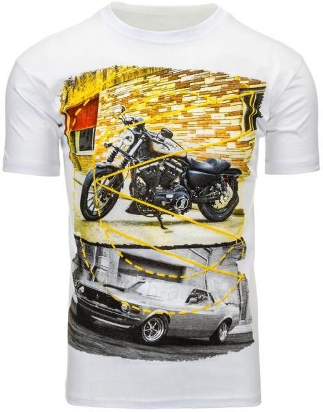 Vyriški marškinėliai Randolf (Balti) Paveikslėlis 1 iš 5 310820033483
