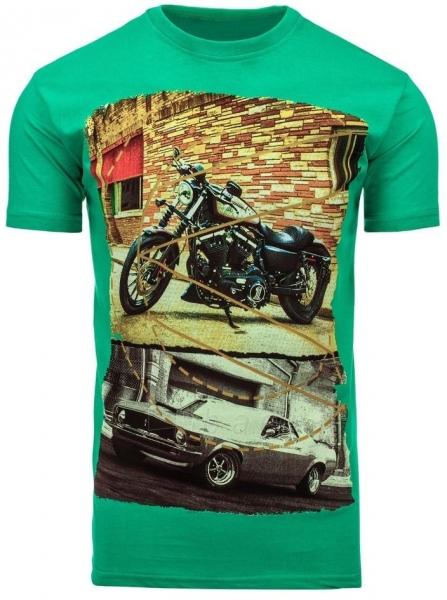 Vyriški marškinėliai Randolf (Žali) Paveikslėlis 1 iš 5 310820033485