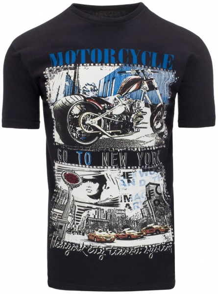 Vyriški marškinėliai Reid (Juodi) Paveikslėlis 1 iš 5 310820033582
