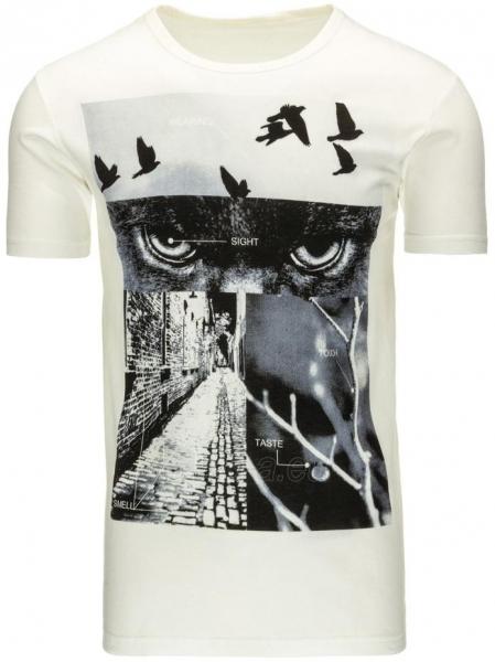 Vyriški marškinėliai Ret (Balti) Paveikslėlis 1 iš 5 310820033505