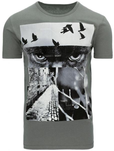 Vyriški marškinėliai Ret (Pilki) Paveikslėlis 1 iš 5 310820033506