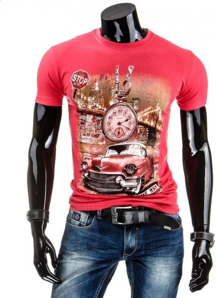 Vyriški marškinėliai Reynold (Rožiniai) Paveikslėlis 1 iš 4 310820034830