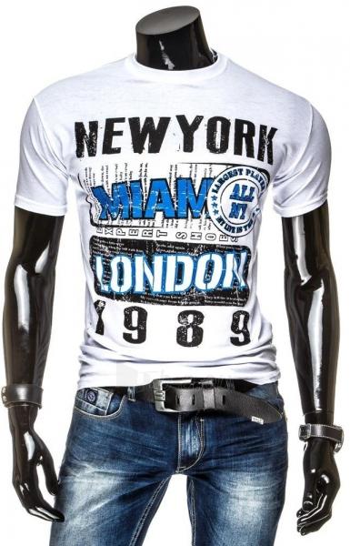 Vyriški marškinėliai Ritchie (Balti) Paveikslėlis 1 iš 4 310820034844