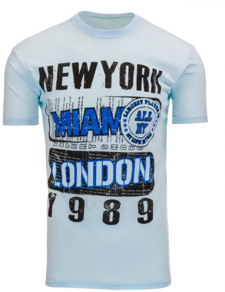 Vyriški marškinėliai Ritchie (Sky Blue) Paveikslėlis 1 iš 5 310820033602