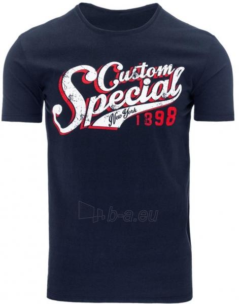 Vyriški marškinėliai Rocky (Tamsiai mėlyni) Paveikslėlis 1 iš 5 310820033545