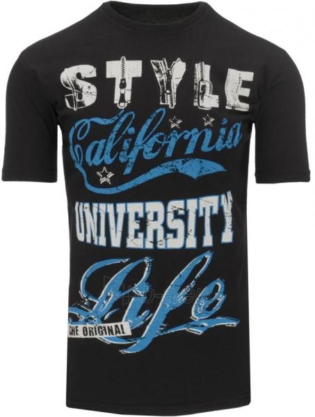 Vyriški marškinėliai Rolf (Juodi) Paveikslėlis 1 iš 5 310820033605