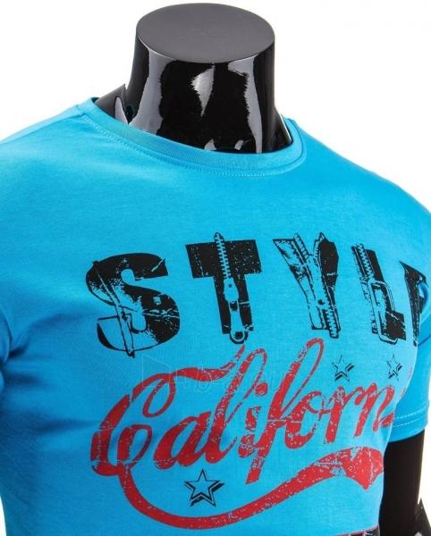Vyriški marškinėliai Rolf (Turkis) Paveikslėlis 1 iš 4 310820033606