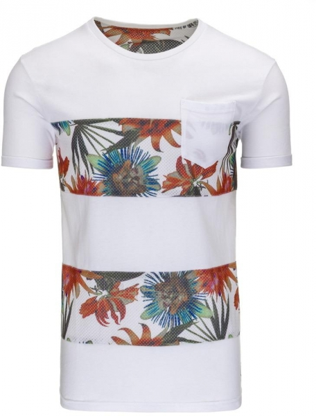Vyriški marškinėliai Rowland (Balti) Paveikslėlis 1 iš 5 310820033570