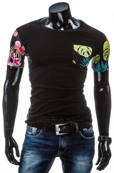 Vyriški marškinėliai Rowley (Juodi) Paveikslėlis 1 iš 4 310820033572