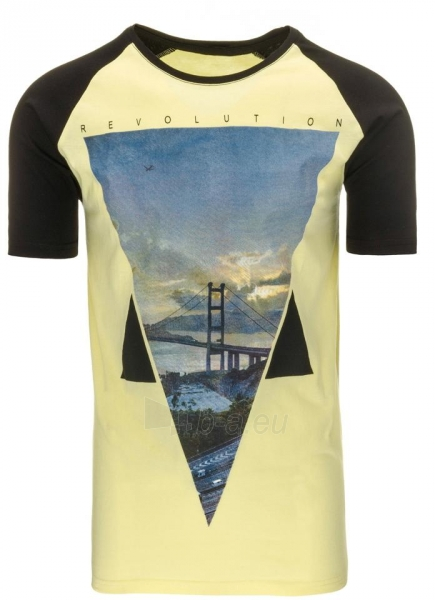 Vyriški marškinėliai Rupert (Geltoni) Paveikslėlis 1 iš 5 310820033579