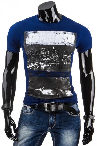 Vyriški marškinėliai Sammie (Tamsiai mėlyni) Paveikslėlis 1 iš 4 310820033612