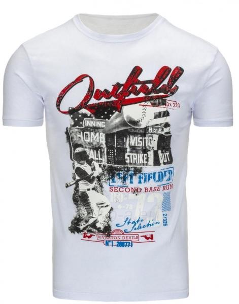 Vyriški marškinėliai Sampson (Balti) Paveikslėlis 1 iš 5 310820033598