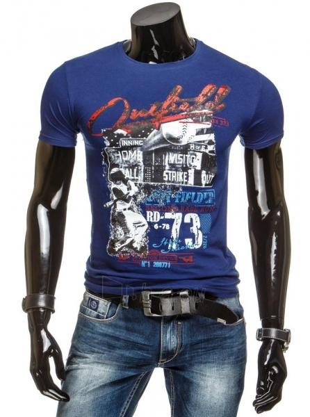 Vyriški marškinėliai Sampson (Tamsiai mėlyni) Paveikslėlis 1 iš 4 310820034856