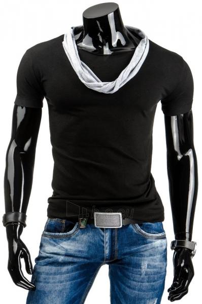Vyriški marškinėliai Sean (Juodi) Paveikslėlis 1 iš 4 310820034860