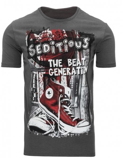 Vyriški marškinėliai Seditious (Grafitiniai) Paveikslėlis 1 iš 5 310820033658