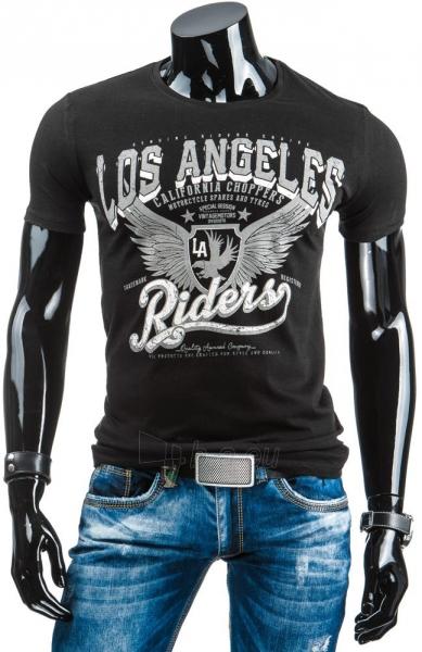 Vyriški marškinėliai Shad (Juodi) Paveikslėlis 1 iš 4 310820033623