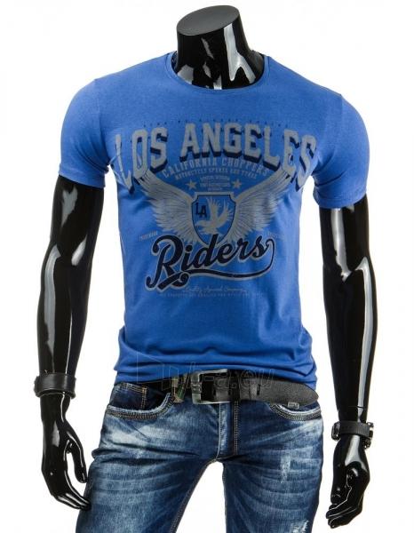 Vyriški marškinėliai Shad (Mėlyni) Paveikslėlis 1 iš 4 310820034864