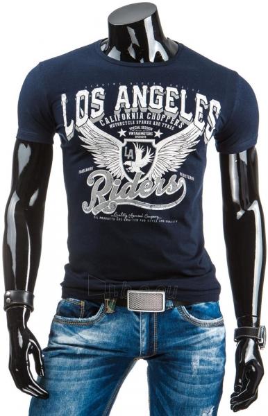 Vyriški marškinėliai Shad (Tamsiai mėlyni/Balti) Paveikslėlis 1 iš 4 310820034865