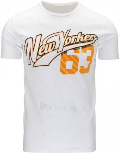 Vyriški marškinėliai Shaun (Balti) Paveikslėlis 1 iš 5 310820033624