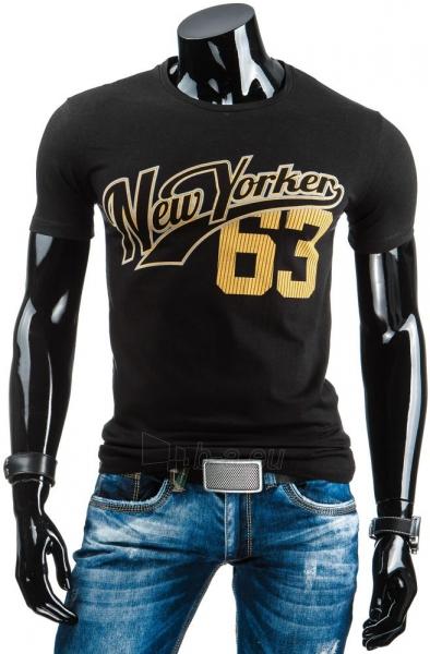 Vyriški marškinėliai Shaun (Juodi) Paveikslėlis 1 iš 4 310820033625