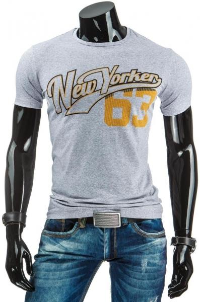 Vyriški marškinėliai Shaun (Pilki) Paveikslėlis 1 iš 4 310820033626