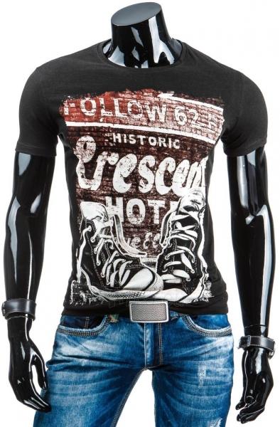 Vyriški marškinėliai Shel (Juodi) Paveikslėlis 1 iš 4 310820033647