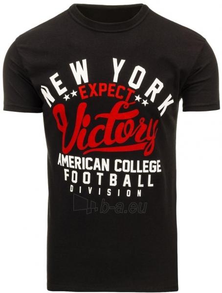 Vyriški marškinėliai Shelby (Juodi) Paveikslėlis 1 iš 5 310820033661