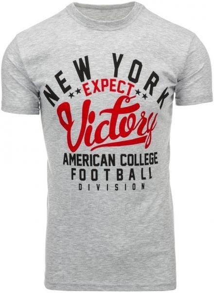 Vyriški marškinėliai Shelby (Pilki) Paveikslėlis 1 iš 5 310820033662