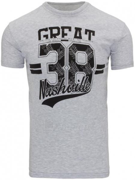 Vyriški marškinėliai Sherman (Pilki) Paveikslėlis 1 iš 5 310820033666