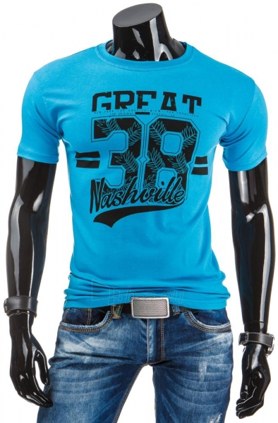 Vyriški marškinėliai Sherman (Turkis) Paveikslėlis 1 iš 4 310820033667