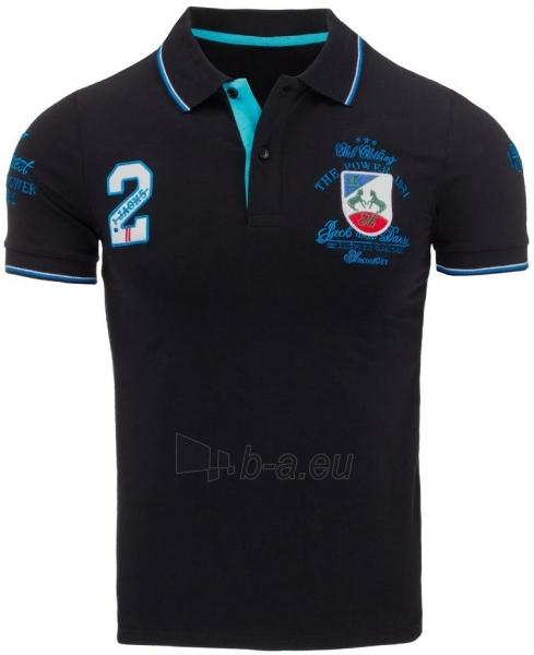 Vyriški marškinėliai Sherwood (Juodi) Paveikslėlis 1 iš 5 310820031095