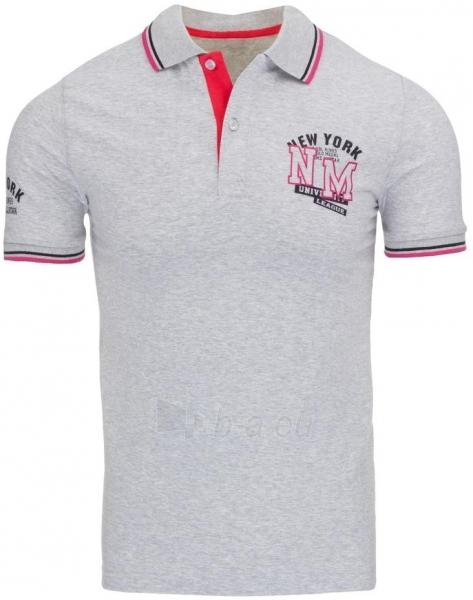 Vyriški marškinėliai Shirley (Pilki) Paveikslėlis 1 iš 5 310820031099