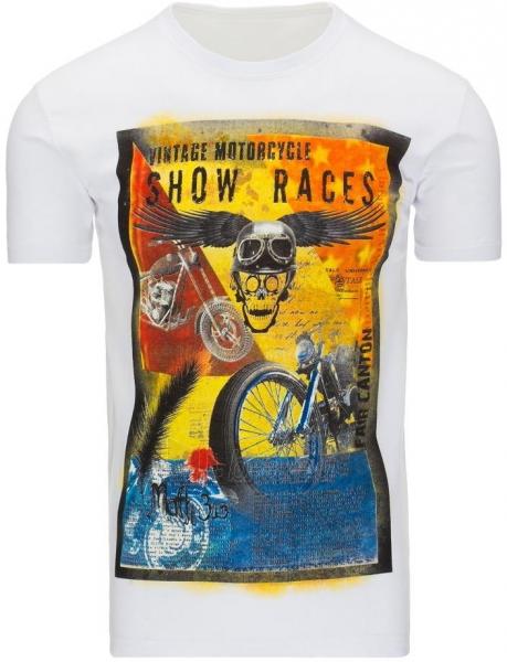 Vyriški marškinėliai ShowRaces (Balti) Paveikslėlis 1 iš 5 310820033500