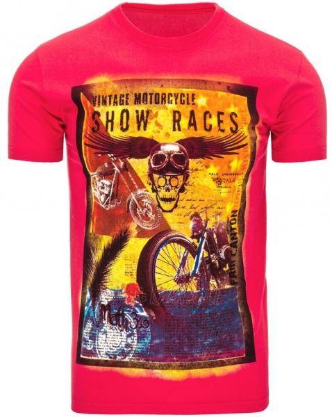 Vyriški marškinėliai ShowRaces (Rožiniai) Paveikslėlis 1 iš 5 310820033502
