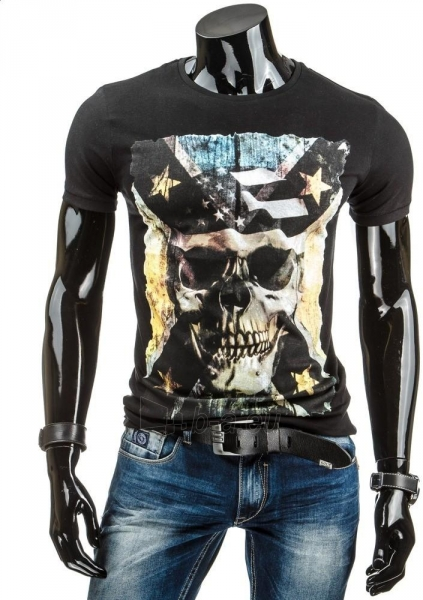 Vyriški marškinėliai Skull (Juodi) Paveikslėlis 1 iš 4 310820034849