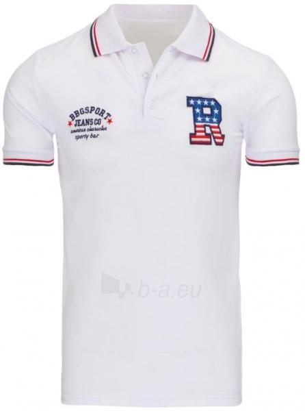Vyriški marškinėliai Spencer (Balti) Paveikslėlis 1 iš 5 310820031240