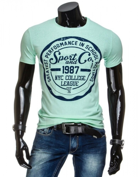 Vyriški marškinėliai Sport&Co (Žali) Paveikslėlis 1 iš 4 310820033526