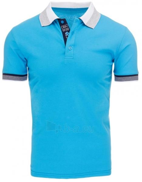 Vyriški marškinėliai Stacey (Turkis) Paveikslėlis 1 iš 5 310820031351
