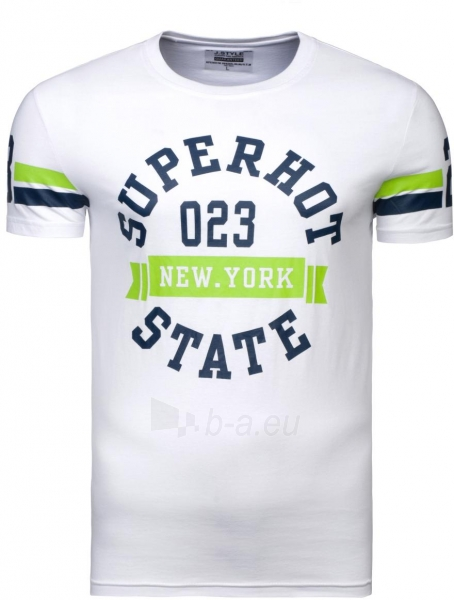 Vyriški marškinėliai SUPERHOT 023 (balti) Paveikslėlis 1 iš 6 310820033085