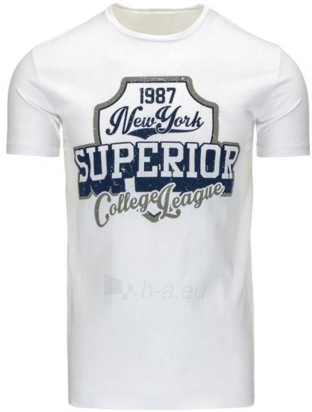 Vyriški marškinėliai Superior (Balti) Paveikslėlis 1 iš 5 310820033560